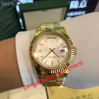 2021 Mode Beste-Verkauf Automatische mechanische Uhr 228238 228239 228235 BP Fabrik produziert 2813 Bewegung 40mm Männer Uhren 18k Gold Case Strap ---- 4