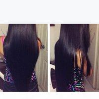 9A Virgin Brazilian Peruvian Malaysian Straight Human Hair Weave Bundles Natural Color Indian Cambodian Brazillian Mink Remy Hair Extensions