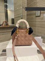 20 cm Últimas cor azul tote mulheres luxurys designers handbags 2021 moda tendência bolsa senhora design punho sacos crossbody bolsa genuína leath