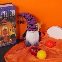 파티 용품 할로윈 홈 장식 거미 봉 제 봉 제 손수 만든 Tomte 스웨덴어 장식품 테이블 장식 선물 OWA7482