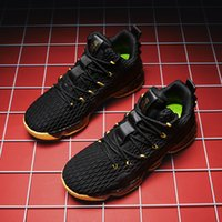 AN669 Toptan Mans Basketbol Ayakkabı Kaliteli Erkekler Satılık Spor ayakkabı Deri Erkek Basketbollar Ayakkabı