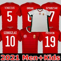 2021 2022 Hungria Futebol Jerseys National Team Szalai Szoboszlai 21 22 Camisa de Futebol