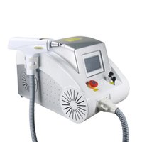 2021 Removel de cabello 1064nm 532nm 1320nm ND YAG Laser Cejas Sistema de eliminación de tatuajes Máquina láser Muñeca negra Rejuvenecimiento de la piel