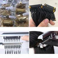 6D Extensions de cheveux vierges blonde 613 ou couleur naturelle 14 pouces à 26 pouces 10A Extensions de cheveux humains brésiliens Nouvelle arrivée