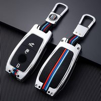 حقيبة كيس مفتاح السيارة حقيبة ل W204 مرسيدس بنز A C E S G GLS CLA Class W213 W177 W205 W211 AMG Keychain التصميم اكسسوارات