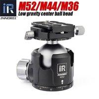 Treppiede Heads Innorel M52 M44 M36 BASSO CENTRO CENTRO DI GRAVITALE AMMINISCAMENTO DAMPING HEAD PER TELEFAMERE DEI SLR digitali pesanti Sfera panoramica