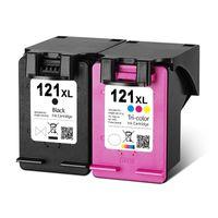 Cartucce d'inchiostro Sostituzione della cartuccia rigenerata 121xL per 121 XL Deskjet D2563 F4283 F2423 F2483 F2493 Stampante