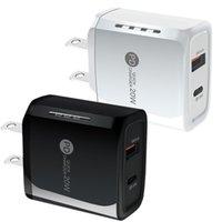 빠른 빠른 충전기 유형 C PD USB-C 20W EU Samsung S20 S21에 대한 미국 벽 충전기 전원 어댑터 20 HTC 안드로이드 전화 PC mp3