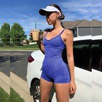 tracksuits Workout Clothes Women Seamless Yoga jumpsuits Sport Bra Top High Waist Fitness Shorts 2pcs Gym Set Running Sportswear yogaworld align pant leggings
