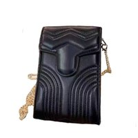 Designer Cross Body Bag para Mulheres Mini Bolsa com Cadeia de Cadeia de Ombro Moeda Senhoras Senhoras Bolso Adequado Telefone Celular Bolsa