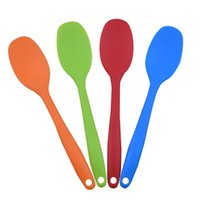 Silicone Kitchen Bakeware Utencil Spoons And Scoop Cooking Tools