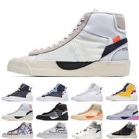 [Bilezik + Çorap + Orijinal Kutusu] Tercihli MID Koşu Ayakkabıları Tüm Yürükleri Arifesi Kaykay On Grim Reepers Erkek Bayan Atletik Spor Açık Eğitmenler Boyutu 36-45