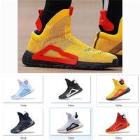 Ni2019 Nuova scarpe da basket originali N3xt L3V3L Zach Lavine Nero Nube Bianco Bianco PRIME MAGLIA Scarpe Donovan Mitchell Scarpe da uomo Dimensione 40-46