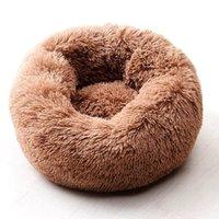 Willstar Dog Bed Winter Cálido Largo Peluche Camas para dormir Soild Color Soft Pet Dogs Cat Mat Mat Cushion Dropshipping
