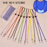 10pcs Anti-drop Mask Hanging Neck Rop Halter Ropes Adjustable Face Mask Lanyard Handy Convenient Holder Rope Anti-lost Case