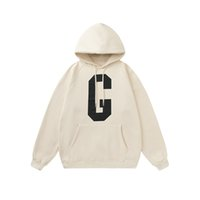 Autumn Winter fashion Designer Mens womens big G hoodies Leisure trends fear of god high quality streetwear fog Sweatshirts essentials men women tracksuit