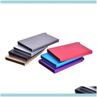 Files Desk Aessories Supplies Office School & Industrialquality Bag Women Creative Aluminum Holder Metal Box Men Credit Business Card Cas Jl
