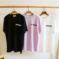 Pusu Kadın Erkek T Gömlek Pembe Pamuk Çift Elbise T-shirt Bırak 210420
