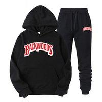 2021 Весенняя и осень Backwoods Печатная Спортивная одежда Мужской Хип-Хоп Хаудяд Свитер