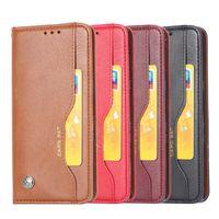 PU Flip Pelle Telefono Copertina portafoglio Casi Accessori Mobile per Xiaomi Poco X3 Redmi Nota10 Nota9 MI11