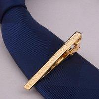 Nœud cravate masculine alliage cravate clip pince de cravate barras fermoir mariage mariage fashion fashion cadeaux eig88