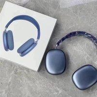 Écouteurs Bluetooth sans fil P9 MAX LED Colorful Respiration Éclairage Casque pliable Bandeau stéréo Écouteurs d'écouteurs avec carte Mic TF MP3