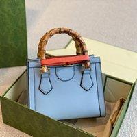 패션 대나무 핸드백 지갑 토트 가방 크로스 바디 가방 창시자 프로필 정품 가죽 분리 가능한 어깨 끈 고품질 여성 지갑
