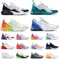 Nike Air Max Airmax 270 270S Mens Femmes Chaussures de course Blanc Bule à peine rose Rose Rose orange rouge South Beach Off White Sports Sneakers Entraîneurs