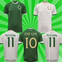 2021 Irlanda Jersey di calcio 20 21 Fai National Football Football Team Duffy McClean Doherty Hendrick Uniform Camicia Uomo + Bambini di distanza