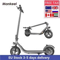 ManKeel 전기 스쿠터 350W 킥 스쿠터 EU 주식 성인 10inch 강력한 와이드 휠 전기 스쿠터 자전거 MK023 CWMSPORTS