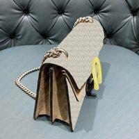 Luxurys Designers Sacs Femmes Top Qualité Sacs à main Dlonysus 3 Tailles TIGNE TIGE BOUCLE TIGE TOILETTRES PRINTEMPTS Sac à bandoulière Vintage en cuir avec boîte de code de date