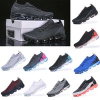 Volar 2 .0 knit 3 zapatillas de deporte para hombre zapatos para correr Triple negro blanco voltio ceninblaje moc polvoriento cactus para mujer entrenadores vapores cojín deportes