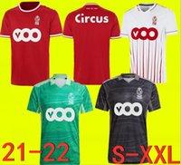 21 22 Estándar Liège Soccer Jerseys Home Limbombe 21 22 R.Standard de Lieja Vanheusden Laifis Cimirot Emond Carcella Football Shirts