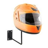 Kask aluminiowy Wyświetlacz Stojak na ścianie Hak na ścianie Do czapki Czapka Motocykl Akcesoria Akcesoria Helper Helmets Helmets