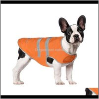 Apparel Pet Supplies Home & Gardenpet Reflective Nylon Clasp Vest High Visibility Raincoat Outdoor Walking Running Hiking Dog Costume Suppli