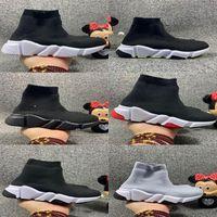 2021 أطفال جورب الأحذية عارضة منصة بنين بنات رياضة سرعة عداء المدرب 1 2.0 الثلاثي أسود كلاسيكي مع الدانتيل الركض المشي الأطفال يطير الأطفال