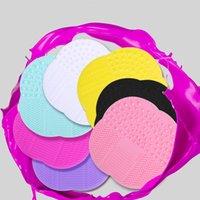 Sundries Silicone Maquillaje Pinceles Limpiador Mat Pad PROFESSIONAL SUCKER Scrubber Board Lavado Cosméticos Cepillo Limpieza Herramientas GWA4882