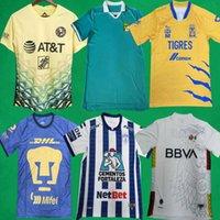 Liga MX Shirt 21 22 Club America Soccer Jerseys 2021 2022 México León Unam Hombres Camisetas de fútbol Tigres Pachuca Hogar de la tercera Jersey