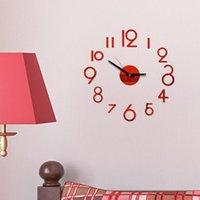 Relojes de pared DIY creativo reloj 3D acrílico decorativo cocina sala de estar comedor decoración casera bodegón espejo palo