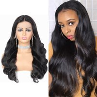 Body Wave Lace Front Wigs For Women 13x1 T Part Remy Brazilian Human Hair Wig Pre Plucked 150% Density