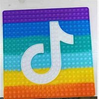 40*40CM Super Giant Large Square Fidget Board Game Sensory Bubble Poppers Toys TikTok Musical Note Big Size Poppet Poo-its Christmas Gift Early Learning H10C9XC