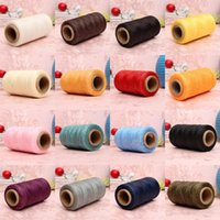Sewing Notions & Tools 260M 150D 1MM Leather Waxed Wax Thread Hand Needle Cord Craft DIY