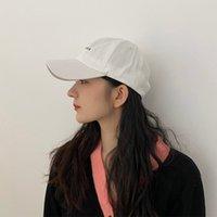 Sombrero hembra chun xia pequeñas letras bordadas gorra para hombres y mujeres amantes El sombreado de ocio al aire libre se evita en una gorra de béisbol