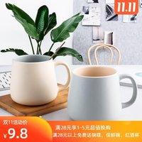 Mugs Nice Looking Cute Girl Household Ceramic Cup Classic Simple Modern Couple Mug CN(Origin) Eco-Friendly CE   EU