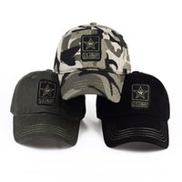 US Army Camouflage Hat Baseball Caps Tactical Military Army Camo Hunting Cap Hats Sport Cycling Caps For Men Adult