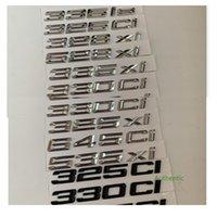شارات الكروم الأسود لسيارات BMW 330IS 325XI 335IS 328XI 330xi 335xi 530xi 530xi 325ci 328ci 330ci 335ci 645ci 530ci 525ci 525ci