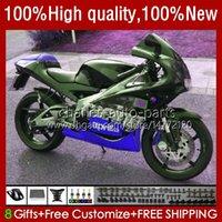 Corpo de motocicleta para Aprilia RS-250 RS RS250R 95 96 97 24no.157 RSV-250 RSV250R RSV250 1995-1997 Dark Green RSV250RR RS250RR 1995 1996 1997