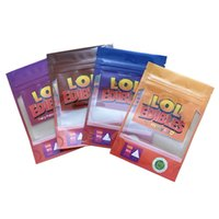 500 mg lol edibles verpackung taschen saure wiederverschlussbare süßigkeiten gummi 420 mylar plastik essbare gummies packung tasche