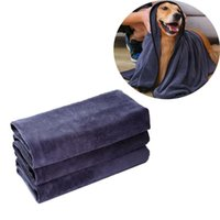 Dog Grooming Handdoek Super absorberend huisdierbad Microfiber drogen voor kleine, gemiddelde, grote honden en katten