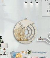 البنود الجدة الإبداعية جولة خشبية مخصص دائم التقويم غرفة دراسة غرفة الديكور كرافت مع حزمة ورقة 4 ألوان اختياري